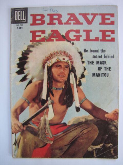 Brave Eagle [#1] Four Color #705 (Jun 1956, Dell) [VG/FN 5.0]