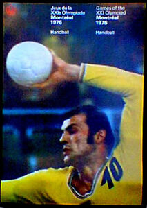 Original-Montreal-76-Summer-Olympic-Official-Handball-Poster