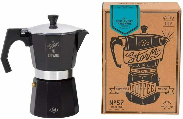 Gentlemen's hardware Stove Top Italian Style Espresso Maker 6 Cup New