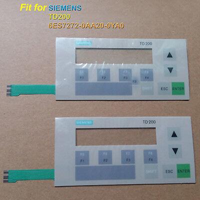NEW Siemens 6ES7272-0AA30-0YA0 //-0YA1 TD200 Membrane Keypad 6ES7 272-0AA30-0YA0