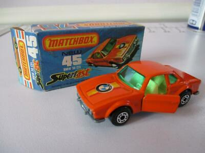 REPRO BOX MATCHBOX SUPERFAST n 45 BMW 3,0csl