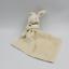miniature 1 - Doudou Lapin blanc écru avec mouchoir Doudou et compagnie - Lapin Mouchoir