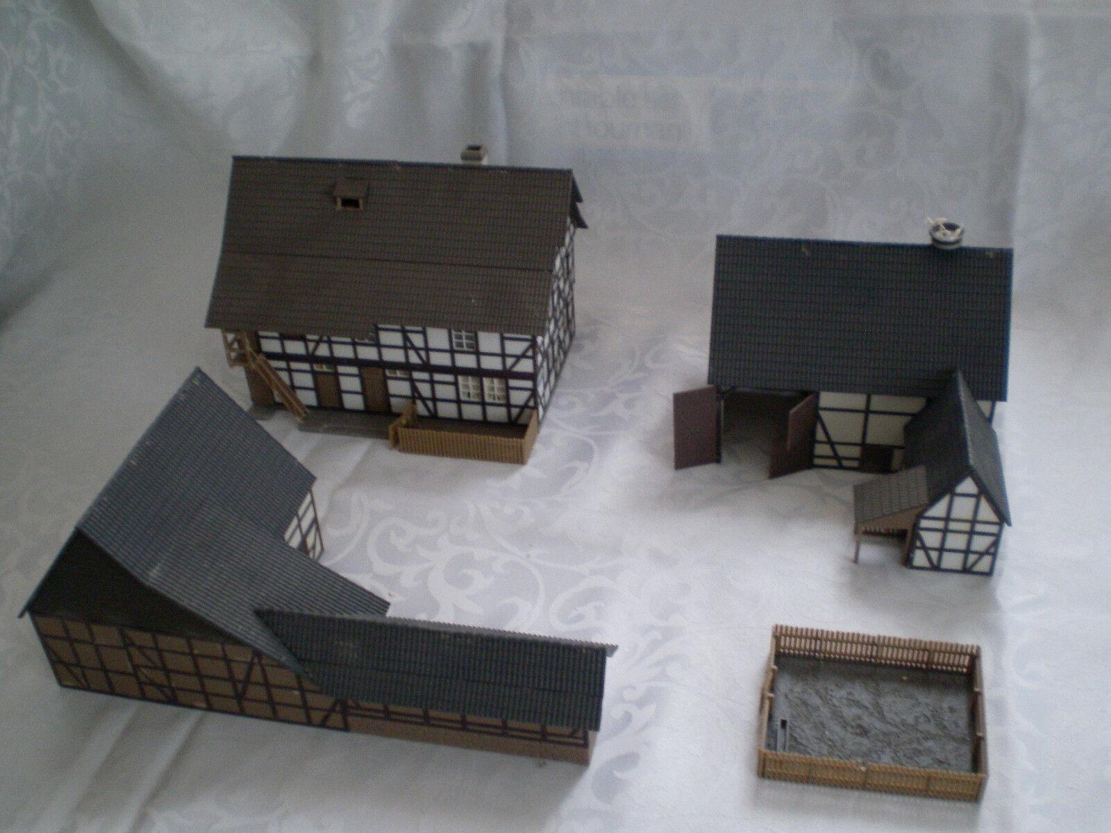 H0 4x Bauerngebäude Bauerngebäude Bauerngebäude  | Großartig  3ad10f