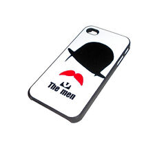 NEW THE MEN RIGID PLASTIC APPLE IPHONE 4 4S SMARTPHONE CASE SUPER FAST SHIPPING
