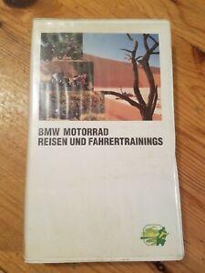 VHS-Kassette-BMW-Motorrad-Reisen-Und-Fahrertrainings