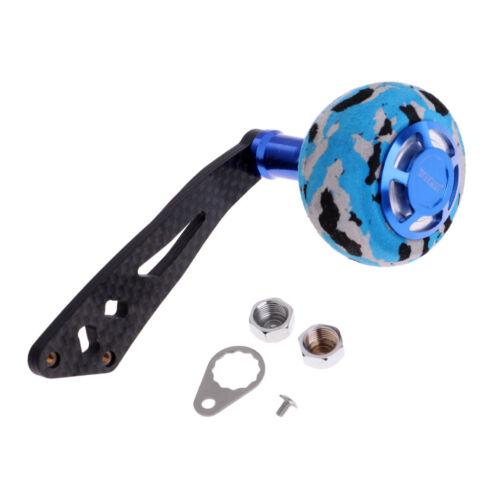 Metal Fishing//Rocker Reel Handle EVA Knob for Baitcasting//Spinning Reels