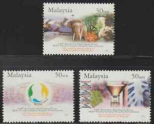 (311)MALAYSIA 2004 THE CONVENTION ON BIOLOGICAL DIVERSITY SET FRESH MNH