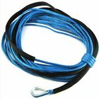 """50' X 1/4"""" Dyneema Synthetic Winch Cable Rope for ATV/UTV 5000 6000LBS Offroad"""