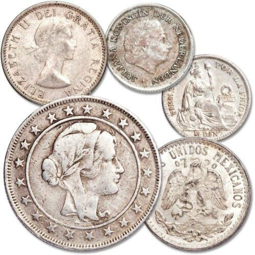 Silver Coins of the Americas 5-Coin Set