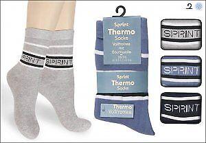 6 Paar Damen Thermo Socken farbig Design Sprint höllisch Warm zum Hammerpreis