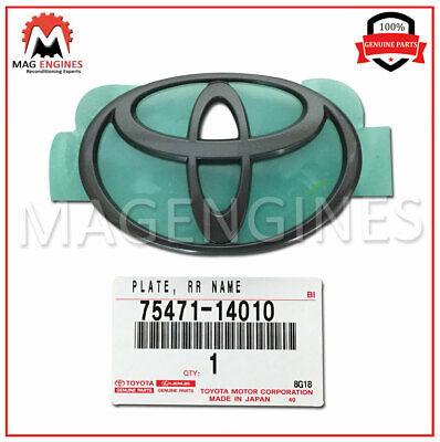 TOYOTA Genuine 75471-42010 Nameplate
