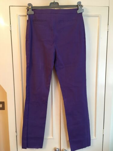44it m Stretch 12uk Pants Versace Slim Size Purple T0vxqgnFnX