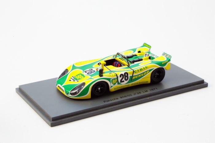 Spark 1/43 Porsche 908/02  28 Le Mans 1971 S1980