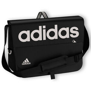 c1cbc4eaf0 Image is loading Adidas-Linear-Holdall-Messenger-Bag-Sports-Gym-Mens-