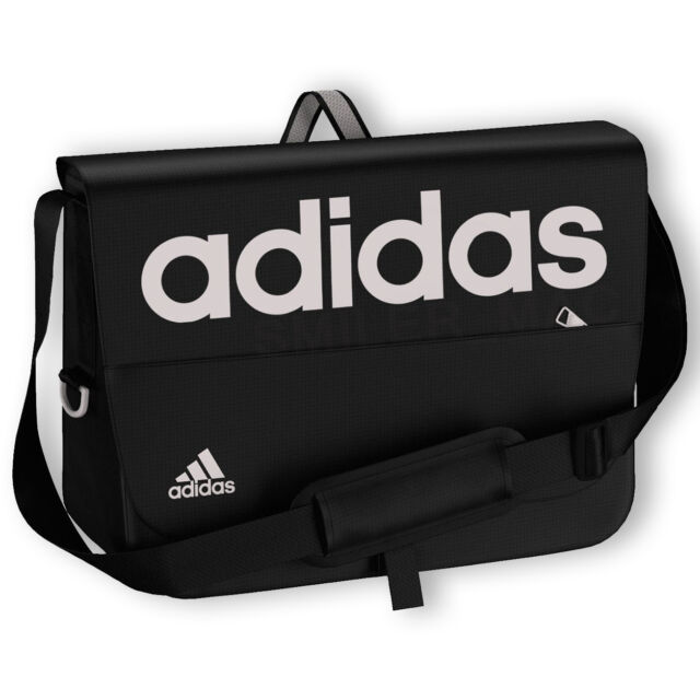 dd563be90b88 adidas Linear Messenger Bag - Black and Grey. for sale online