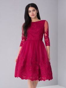 Christmas Party Dress.Details About Chi Chi London Bnwt Embroidered Sian Evening Wedding Christmas Party Dress 16