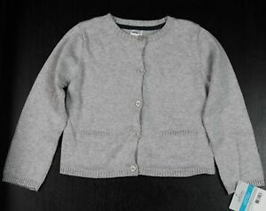 6cee2b438 Carter s Baby Girls Gray Metallic Button Down Cardigan Jacket Size ...