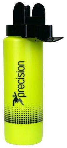 Fluo Lime Black Training Gym Football Hock Precision Water Bottle Team Hygiene