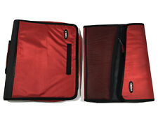 Vintage 1990s Case It 3 Ring 3 Inch Zipper Binder And Corresponding Organizer