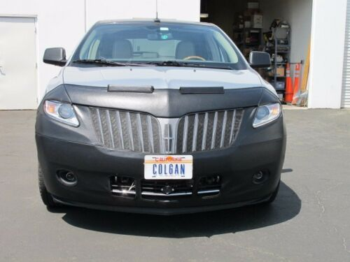 Colgan Front End Mask Bra 2pc Fits Lincoln MKX 2011-2015 With License Plate