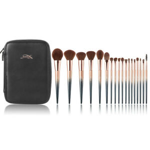 New-Jessup-Professional-Makeup-Tools-Cosmetic-Brush-Set-Starry-Black-and-Bag-Box