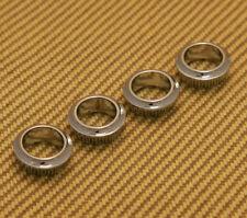 005-1532-049 Genuine Fender (4) Chrome Mex Standard Bass Tuner Bushings
