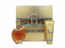 Roberto Cavalli Set: 2.5 oz Eau de Parfum + 2.5 oz Body Lotion (Gold Box)