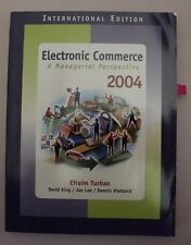 Electronic Commerce 2004: A Managerial Perspective (International Edition)