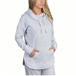 White//Gray L NEW Champion Ladies/' French Terry Hoodie Athletic Pullover Sweater