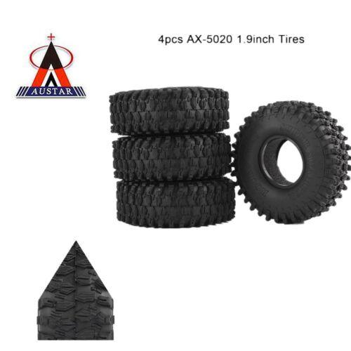 4Pcs AUSTAR AX-5020 1.9 Zoll 120mm Reifen  für 1//10 Traxxas Redcat qi