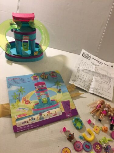 Polly Pocket Ultimate Pool Party + Dolls & Accessories 2007?