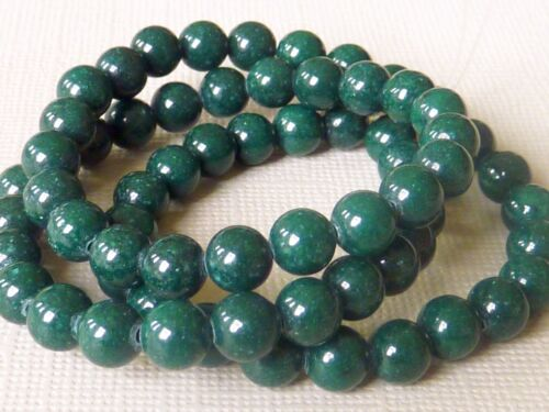 Strang Mashan Jade perle 6 MM rondes boule 40 cm de long sélection 2364