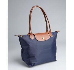 precio baratas online marca popular Detalles de Nuevo Bolso Longchamp le pliage Azul Marino Nylon Bolso Pequeño  S- ver título original