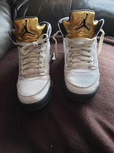 Unisex baloncesto de Zapatillas Jordan Negro Blanco 6 Dorado Nike Retro Air TFxxwvqp