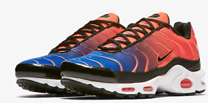Nike Air Max TN Crimson orange   Racer bluee