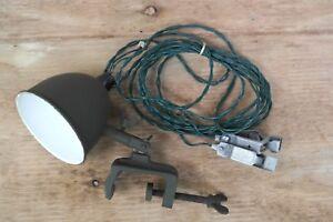 Australian-Army-Field-Office-Lamp-Brass-WW2-NSN-6230-66-067-4050-NOS