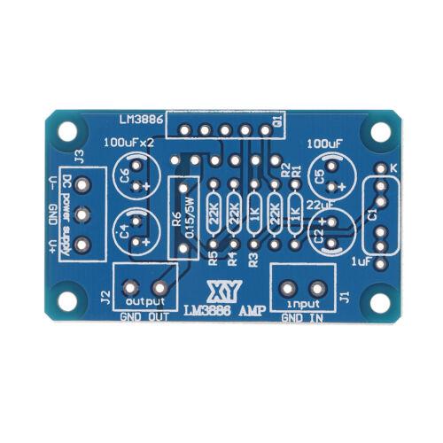 DC ±20-28V 68W LM3886TF HIFI power amplifier board PCB parallel bare board BE