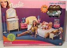NIB BARBIE DOLL 1999 LIGHT UP BEDROOM PLAYSET