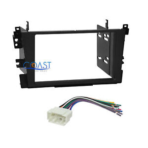 car radio stereo double din dash kit wire harness for 1999 2003image is loading car radio stereo double din dash kit wire