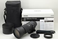 TOP MINT Sigma DG 150-600mm F/5-6.3 DG HSM OS Lens For Nikon from Japan a681