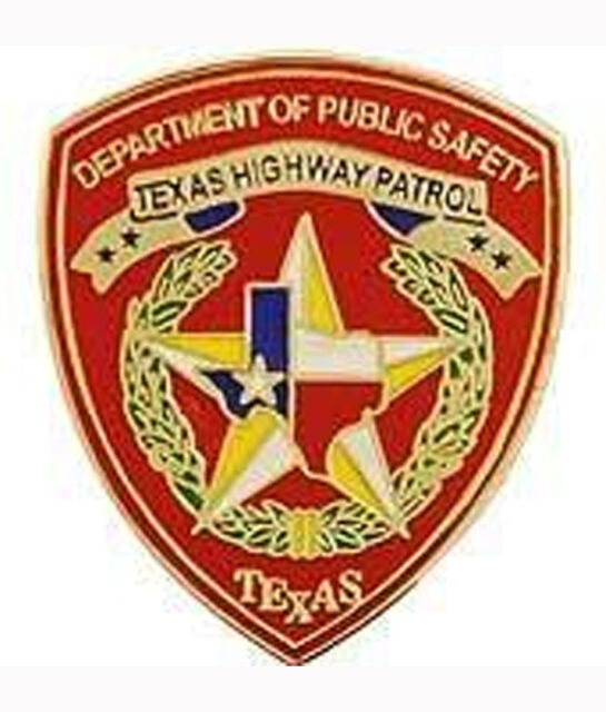 Metal Lapel Pin US 50 State Police Patch Pin Collection Texas Highway  Patrol NEW
