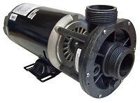 Aqua-flo Spa Hot Tub Pump - 1hp, 2 Speed, 115 Volts, 1.5 Center Discharge Fmcp