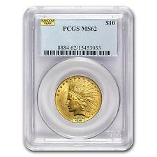 $10 Indian Gold Eagle Coin - Random Year - MS-62 PCGS - SKU #12918