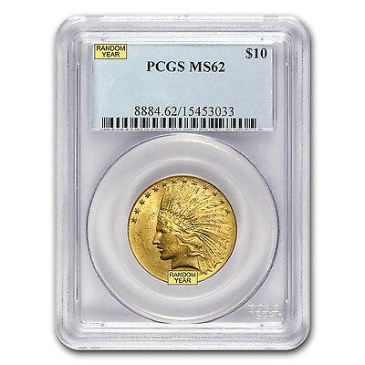 $10 Indian Gold Eagle MS-62 PCGS (Random) - SKU #12918