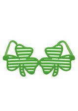 NEW GIANT ST PATRICKS DAY IRISH CLOVER GLASSES SPECS FANCY DRESS ACCESSORY