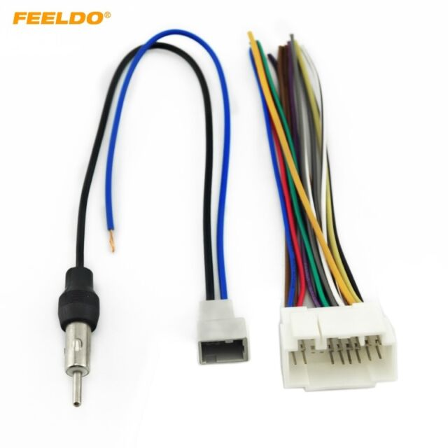 Radio Wiring Adapter Factory Harness To Aftermarket Stereo Head Ebay on chevy relay switch, chevy 1500 wireing harness color codes, chevy fan motor, chevy radiator cap, chevy wheel cylinders, chevy clutch assembly, chevy power socket, chevy wiring connectors, chevy speaker wiring, chevy clutch line, chevy wiring horn, chevy front fender, chevy abs unit, chevy warning sticker, chevy crossmember, chevy alternator harness, chevy speaker harness, chevy rear diff, chevy battery terminal, chevy wiring schematics,