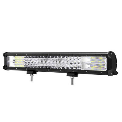 """23""""inch 1152W CREE LED Tri-row Work Light Bar Combo Flood Spot Driving Offroad"""