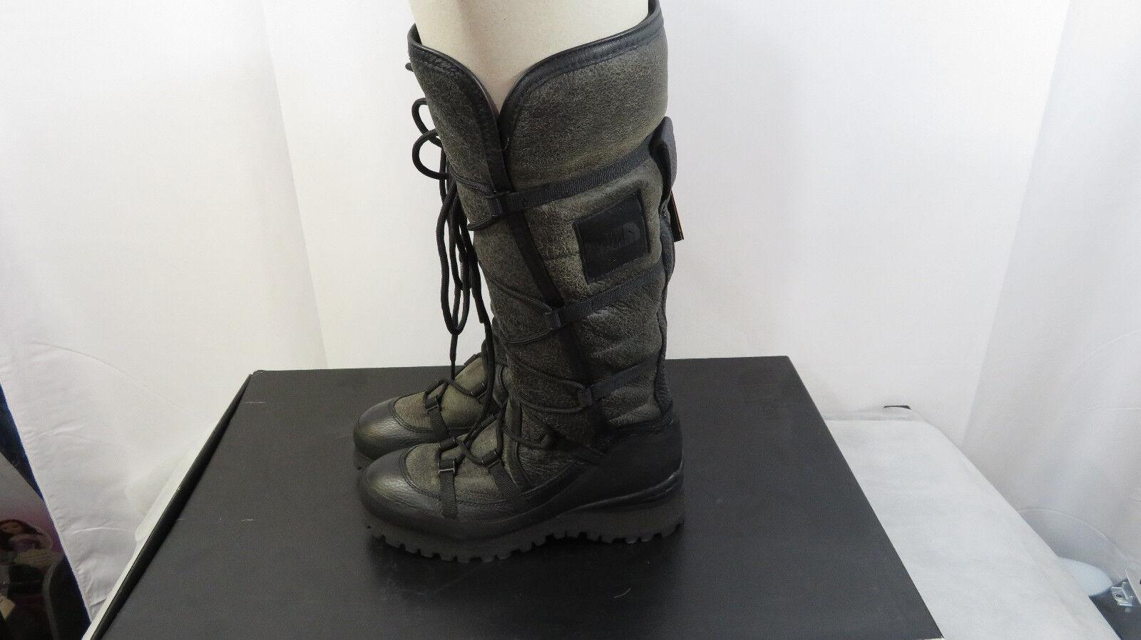 The Italia North Face hecha en Italia The Cryos alto cálido de cuero botas talla 5.5 TNF Negro 0bca5b
