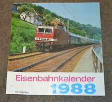 Eisenbahnkalender 1988 - Original DDR