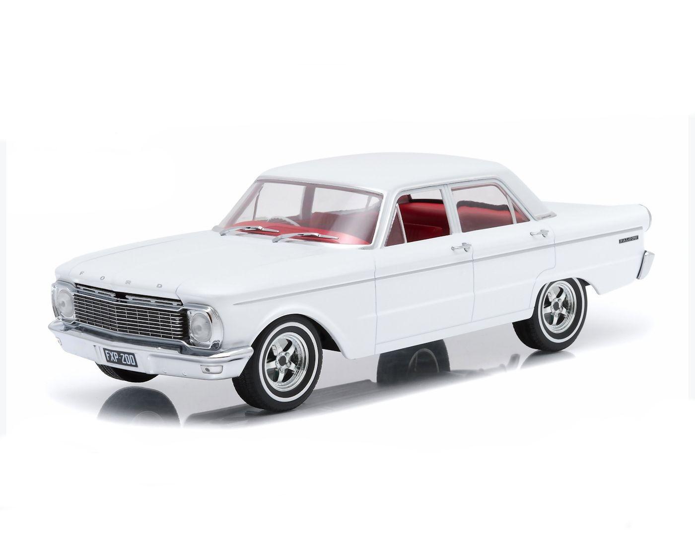 18 dda - 1965 xp falcon limousine weiße mit eigenen räder